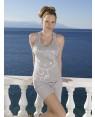 Jeannette Βαμβακερή Πυτζάμα Πολυτελείας Με Αθλητική Πλάτη