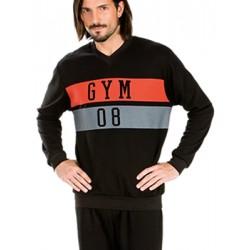 Πυτζάμα Πολυτελείας Minerva Gym - 100% Γεμάτο Βαμβάκι Interlock - Sports Style - Hot Pick 18