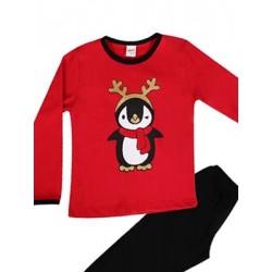 Παιδική Πυτζάμα Minerva CHRISTMAS PENGUIN - 100% Αγνό Βαμβάκι - Χειμώνας 2017-18