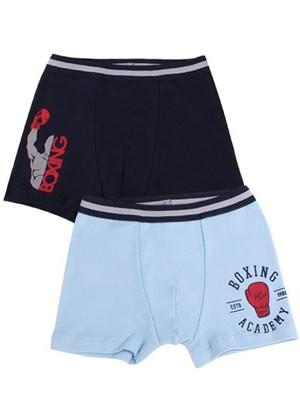 Παιδικό Εφηβικό Boxer Minerva Boxing - Αγνό Βαμβάκι