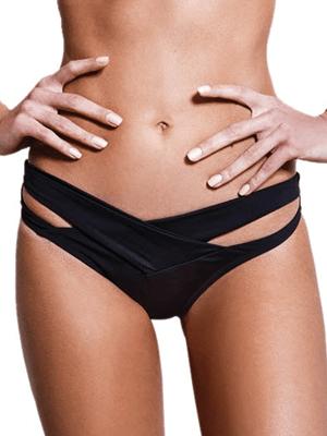 Μαγιό Bluepoint Bikini Brazilian - Λωρίδες σε σχήμα Χ - Mix & Match - Καλοκαίρι 2017