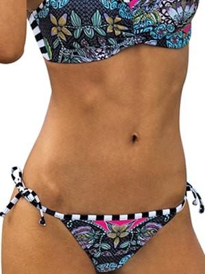 Μαγιό BLU4U Bikini Κανονικό Tropic Africa - Δέσιμο στο Πλάι - Mix & Match - Καλοκαίρι 2017