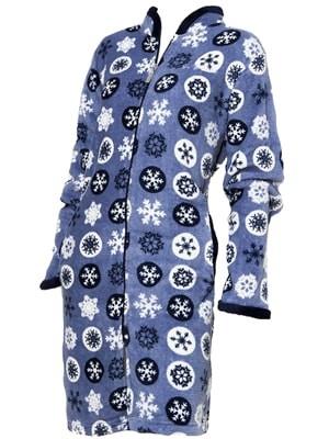 Buccia di Mela Γυναικεία Fleece Ρόμπα Πολυτέλειας -  Ζεστή & Πολύ Απαλή