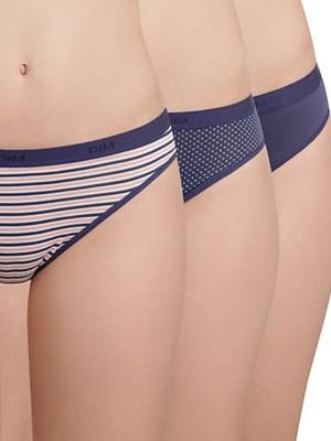 DIM Γυναικεία Σλιπς Les Pockets Coton - Βαμβακερά - 3 τεμάχια