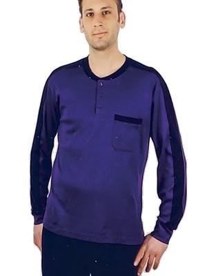 Πυτζάμα Ανδρική GOOD - 100% Βαμβάκι Interlock - Sport Look - Ιταλικό Style
