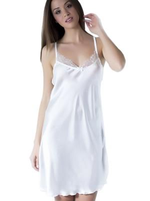 Νυφικό Νυχτικό HARMONY - Απαλό Σατέν - Διακόσμηση Δαντέλας