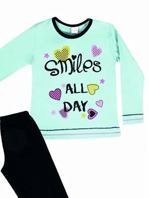 Παιδική Πυτζάμα Minerva SMILES ALL DAY  - 100% Αγνό Βαμβάκι Interlock - Χειμώνας 2018