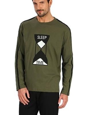 Ανδρική Πυτζάμα SLEEP TIME MINERVA - 100% Βαμβάκι Interlock - Χειμώνας 2017-18