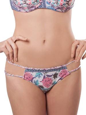 Μαγιό BLU4U Slip Serefina- Bikini Brazilian - Πλεχτές Λωρίδες - Mix & Match - Καλοκαίρι 2017