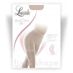 Levante Body Slim 40 - Καλσόν με Λαστέξ & Διαβαθμισμένη Συμπίεση - Πιο Λεπτή & Σφριγηλή Σιλουέτα - ανθεκτική Lycra μετάξι