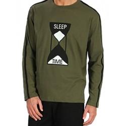 Ανδρική Πυτζάμα SLEEP TIME MINERVA - 100% Βαμβάκι Interlock - Χειμώνας 2018