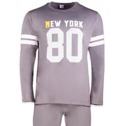 Ανδρική Homewear τύπου Φόρμας MINERVA NEW YORK 80 Βαμβακερή Interlock - Hot Pick 18