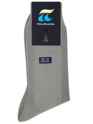 Πουρνάρα Art 140 - 100% Μεταξοποιημένη Βαμβακερή Πολύ Λεπτή Μονόχρωμη Κάλτσα