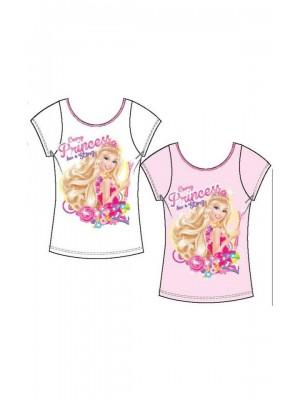 Φανέλα Minerva με κοντό μανίκι Barbie Secret Door για κορίτσι - 100% Βαμβάκι