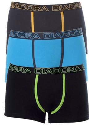 Diadora Boxer - Βαμβακερό - Φαρδύ Λάστιχο - Logo Diadora - 3 τεμάχια - Καλοκαίρι 2017