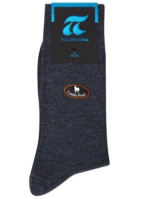 Κάλτσες Πουρνάρα Art 604 Πολυτελείας Μάλλινες από ποιοτικό μαλλί Lambs