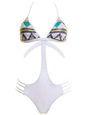 Μαγιό Ολόσωμο Bluepoint VIRGINIA Τρίγωνο - Brazil Bikini