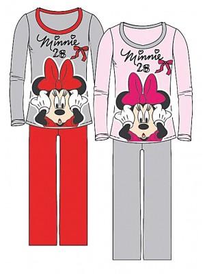 Παιδική Πυτζάμα Minerva Disney Minnie για κορίτσι - 100% Οικολογικό Βαμβάκι