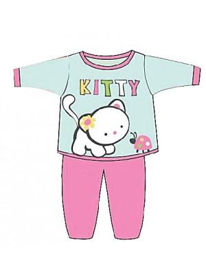 Βρεφική Πυτζάμα Minerva KITTY  για κορίτσι - 100% Οικολογικό Βαμβάκι