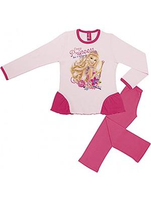 Παιδική Πυτζάμα Minerva Barbie Next Door για κορίτσι - 100% Οικολογικό Βαμβάκι