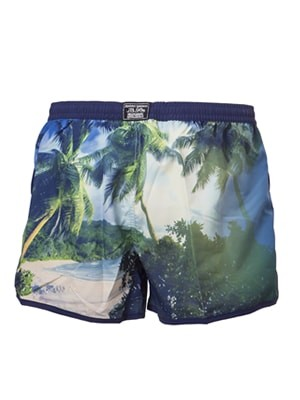 Ανδρικό Μαγιό Johnny Brasco - Shorts Κοντό - Τροπική Παραλία - Καλοκαίρι 2017