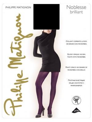 PHILIPE MATIGNON Noblesse Brilliant - Αδιάφανο 100den-Lycra - Γυαλιστερό - Καλσόν Πολυτελείας -  Για πέδιλο