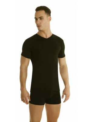 Αντρική Φανέλα Palco -T shirt Ελαστικό Βαμβακερό Ύφασμα σε Σχήμα V