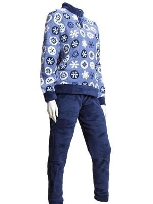 Buccia di Mela Γυναικεία Fleece Πυτζάμα τύπου φόρμας -  Ζεστή & Πολύ Απαλή