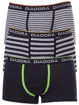 Diadora Boxer - Βαμβακερό - Εξωτερικό Λάστιχο - Logo Diadora - 3 τεμάχια