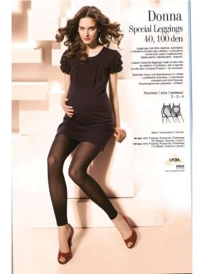 Gatta Κολάν Εγκυμοσύνης 100 Den Dona Body Protect Leggings