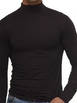 Helios  Aνδρική Μπλούζα με Μακρύ Μανίκι και Ζιβάγκο