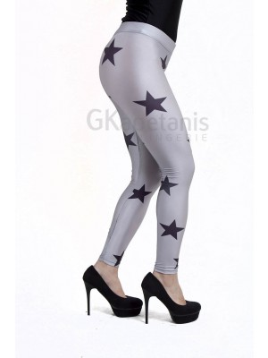 Κολάν Outwear Hyper Σχέδιο Αστέρια - Γυαλιστερό - Πολύ Απαλό