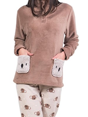 Πυτζάμα Homewear Karelpiu - Ζεστό & Απαλό Fleece - Χειμώνας 2017-18