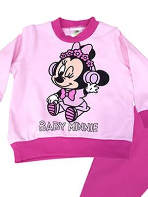 Βρεφική Πυτζάμα Minerva Disney Minnie για κορίτσι MUSIC -  100% Αγνό Βαμβάκι Interlock