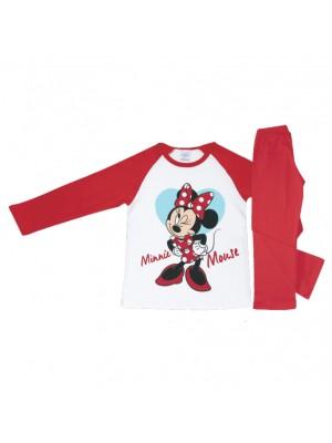 Παιδική Πυτζάμα Minerva Minnie για κορίτσι - Βαμβακερή Interlock