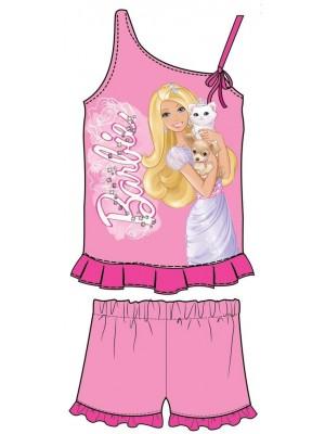 Παιδική  Πυτζάμα Minerva Barbie για κορίτσι - 100%  Βαμβάκι