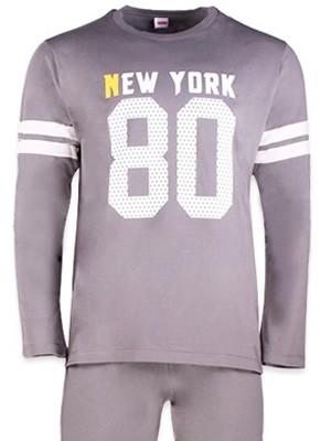 Ανδρική Homewear τύπου Φόρμας MINERVA NEW YORK 80 Βαμβακερή Interlock - Hot Pick 17-18