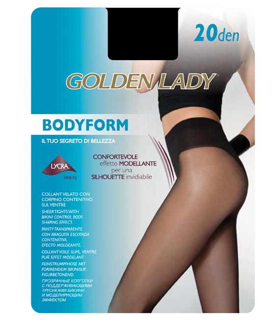 b9d48eaa1770 Kapetanis Καλσόν Golden Lady Body Form 20 Λεπτό - Ελαστικό - Ματ με Λαστεξ  Σύσφιξης - Κατάλληλο