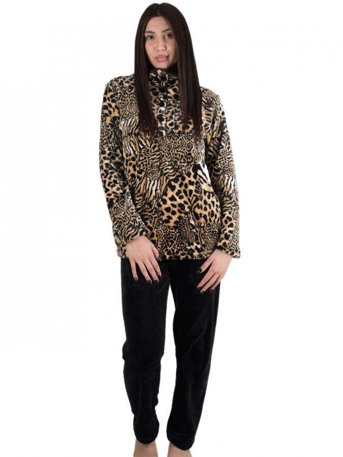 Πυτζάμα Πολυτελείας Kare - Ζεστό Fleece - Animal Σχέδιο - Χειμώνας ... ac4536210ae