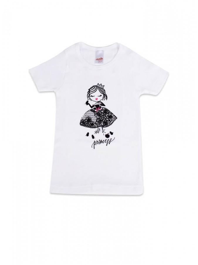 e24fa1d7ffe Παιδική- Εφηβική Φανέλα Μινέρβα ΠΑΡΑΜΥΘΙ - για κορίτσι - 100% Αγνό Βαμβάκι  - ...