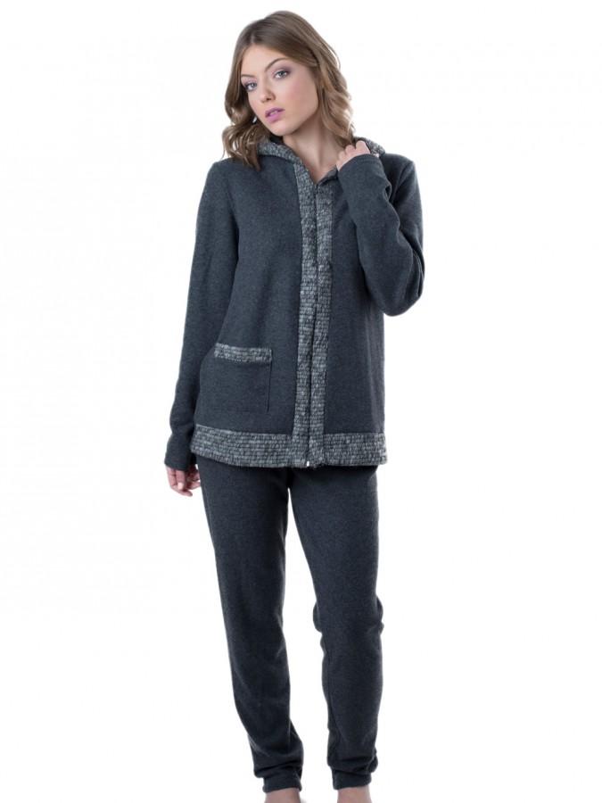 aef6fb80172c Γυναικεία Πυτζάμα - Φόρμα Venere - Βαμβάκι Fleece - Extra Ζεστή ...