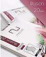 Καλσόν MEWE Illusion 20 -  Lycra 20 Den In Up and Fit με Λαστέξ Σύσφιξης  - Microfbra - Σε 4 χρώματα