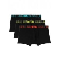 DIESEL Damien Boxer - Ελαστικό Βαμβάκι - Logo Diesel - Πακέτο με 3 - Καλοκαίρι 2021