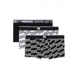 DIESEL Damien Boxer - Ελαστικό Βαμβάκι - DSL Print - Πακέτο με 3 - Καλοκαίρι 2021
