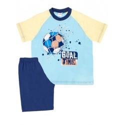 Παιδική Πυτζάμα MINERVA GOAL TIME - 100% Αγνό Βαμβάκι - Smart Choice SS21