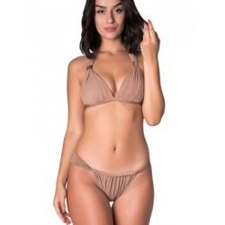 Set Μαγιό Bluepoint - Τρίγωνο Push Up + Brazilian Bikini - Δίχτυ & Σούρα - Καλοκαίρι 2018