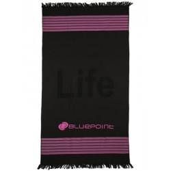 Πετσέτα Παραλίας Bluepoint Life - Απαλό Ύφασμα - Υφαντό Logo - Καλοκαίρι 2018