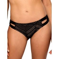Μαγιό BLU4U Brazil Bikini Wish - Φαρδιές Λωρίδες - Πλεχτή Δαντέλα