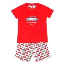Παιδική Πυτζάμα ADMAS La Dolce Vita για αγόρι - 100% Βαμβακερή - Καλοκαίρι 2020