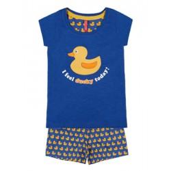 Παιδική Πυτζάμα ADMAS Ducky για κορίτσι - 100% Βαμβακερή - Καλοκαίρι 2020